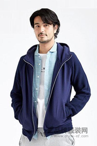 棉先生男装2017春夏休闲连帽外套