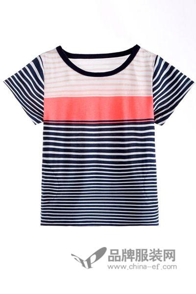 小店18童装2017新品条纹T恤
