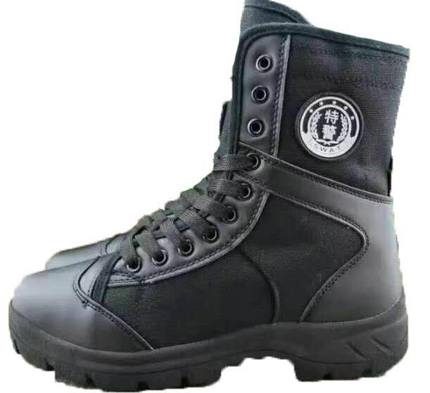 特警夏季帆布作训靴,特警战训靴,特警夏季战训靴