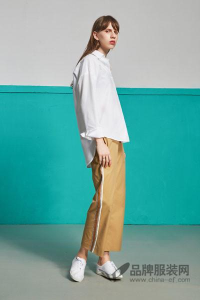 ITS VIIVII女装2017新品时尚白衬衫