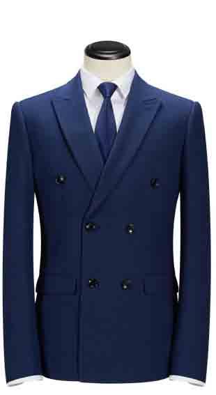 卡尔·高斯蓝色西服