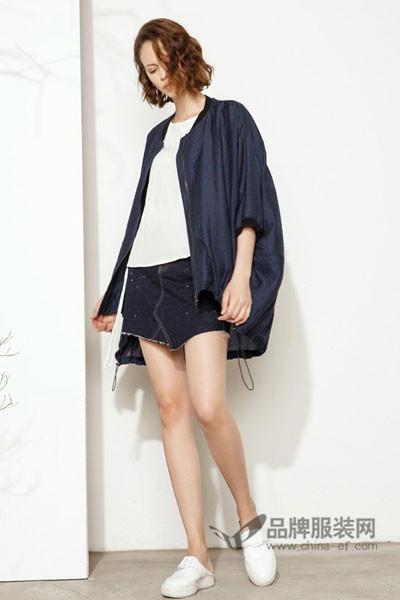撒尼女装2017秋冬时尚宽松外套