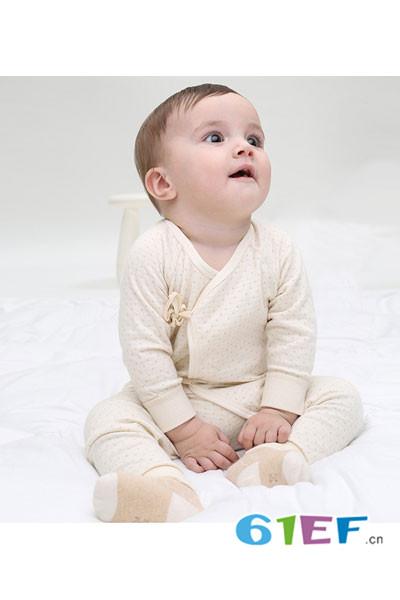 CottonFactory植棉制童装2017新品系带分体衣