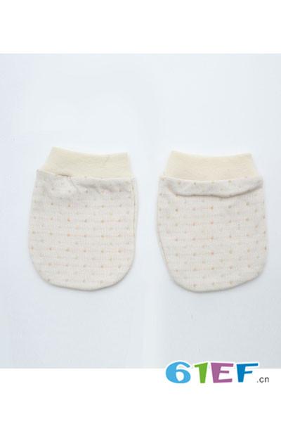 CottonFactory植棉制童装2017新品新生儿手套