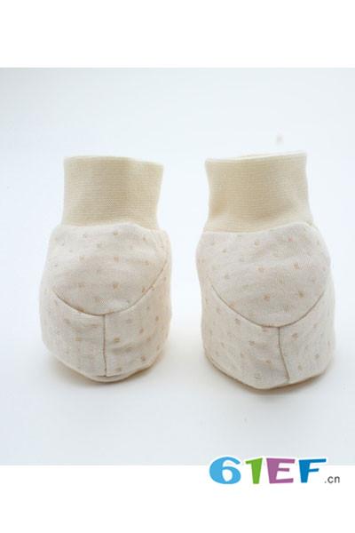 CottonFactory植棉制童装2017新品新生儿脚套