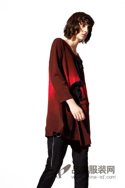 JISUO女装 以黑白、个性为服装整体风格提倡个性与自信女装