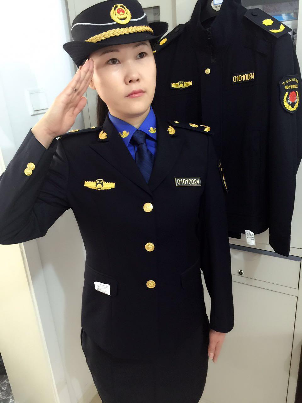 新式安监服装等安全监察标志服厂家