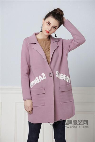 彤欣格女装2017秋冬韩版中长款毛呢外套