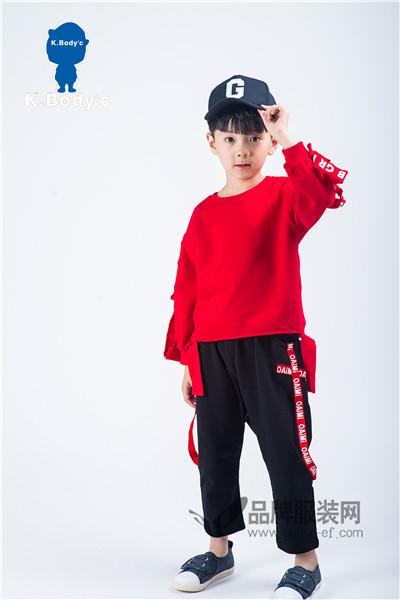 K.Body℃/宝贝衣舍童装2017秋冬潮童百搭卫衣