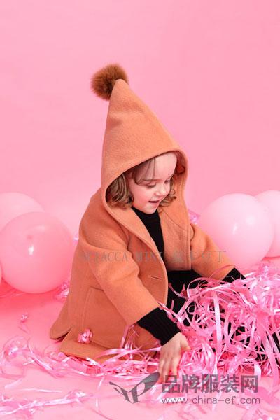 夏卡豆丁童装2017秋冬个性可爱休闲女外套