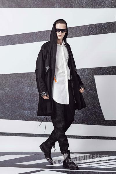 杭州欧E 黑白女装品牌女装2017秋冬
