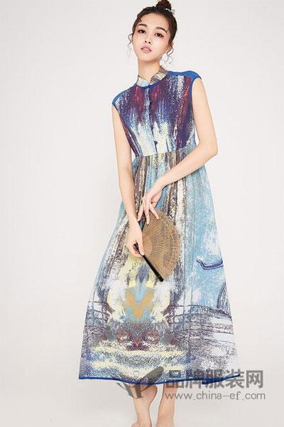 幕荷女装复古时尚气质连衣裙