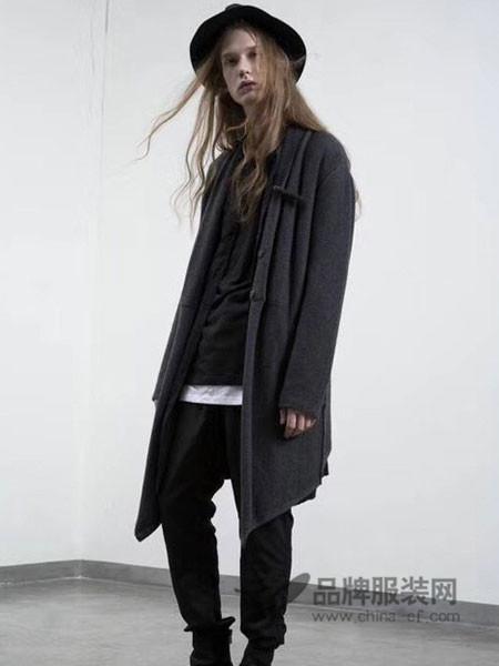 默術HOMME男装2017秋冬个性休闲男外套