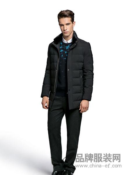 老爷车男装2017秋冬男士中长款棉衣棉服保暖大衣外套