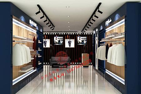 宏城展柜设计——男装展柜