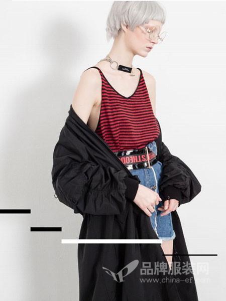 艾赛丝戈女装2017秋冬时尚休闲保暖中长长外套