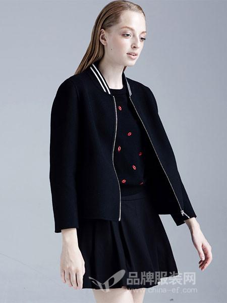 梦菲雪女装小个子毛呢大衣女短款韩版2017新款宽松矮个子呢子外套女显瘦