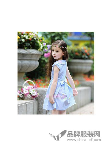 小熊空间童装时尚甜美女裙