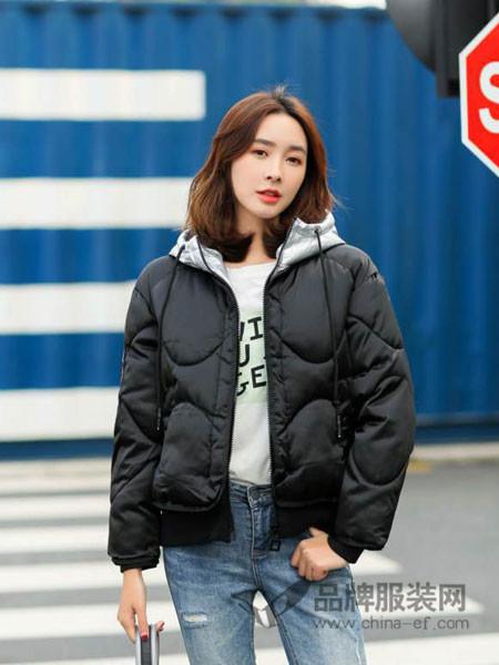 左韩女装2017秋冬飞行员夹克棒球服同款面包服宽松棉衣服冬加厚保暖短外套