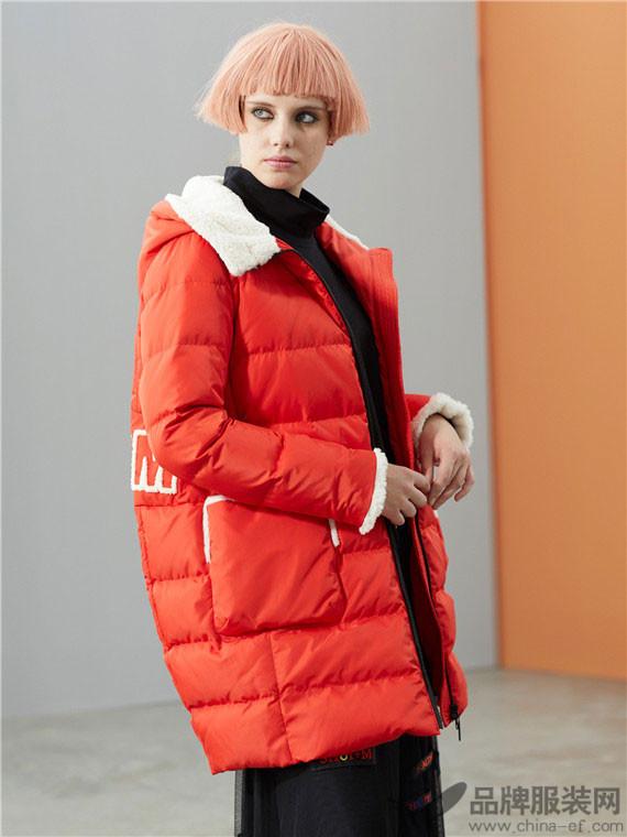 水淼SHUIMIAO女装2017冬季中长款外套套装长袖