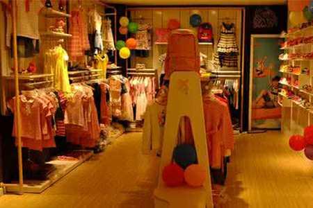 熊奈儿童装店铺图