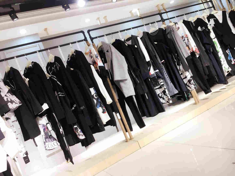 广州一线品牌折扣女装【花梓伊】女装批发 折扣加盟