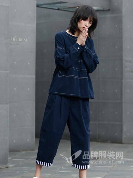 BUKHARA布卡拉女装2017秋冬时尚休闲运动套装女韩版大码连帽卫衣两件套