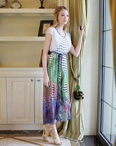 杭州时尚品牌女装依熏专柜正品一手货源批发走份