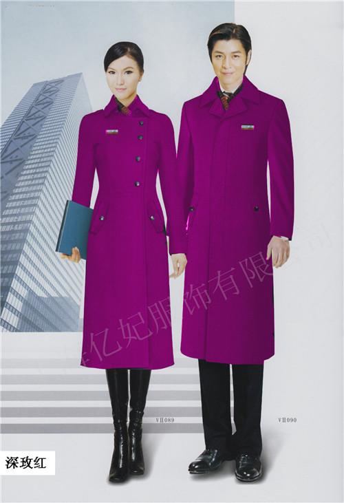 女士冬季羊毛呢长款加厚大衣 妮子外套 呢大褂定制颜色多