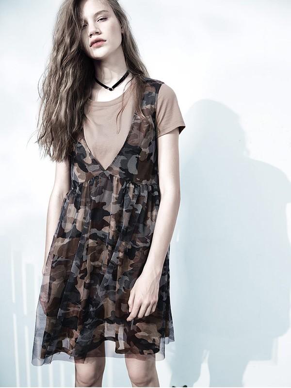 颜可可品牌折扣女装女装2018夏季新品
