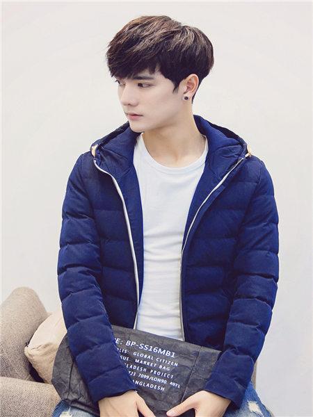 库依娜男装2018秋冬新品外套休闲外套百搭外套韩版外套