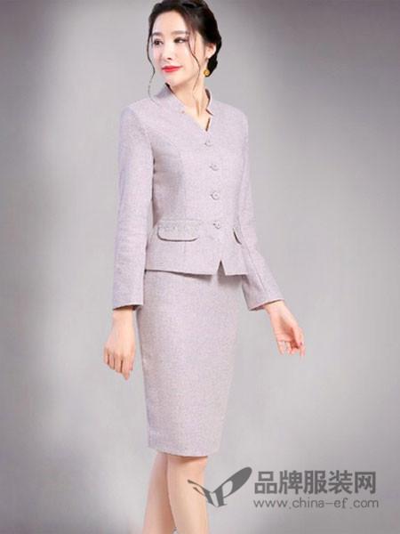 airangel女装2017秋冬修身显瘦时尚七分袖连衣裙女士中长款包臀裙