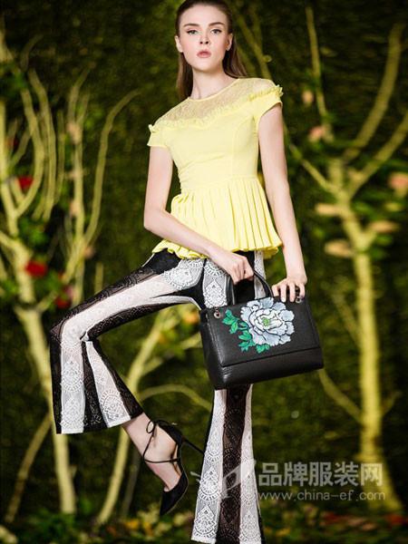 图案女装2018春夏双层雪纺衫短袖上衣韩版雪纺衫