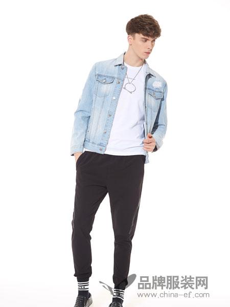ZENL佐纳利男装2018春夏牛仔短款外套