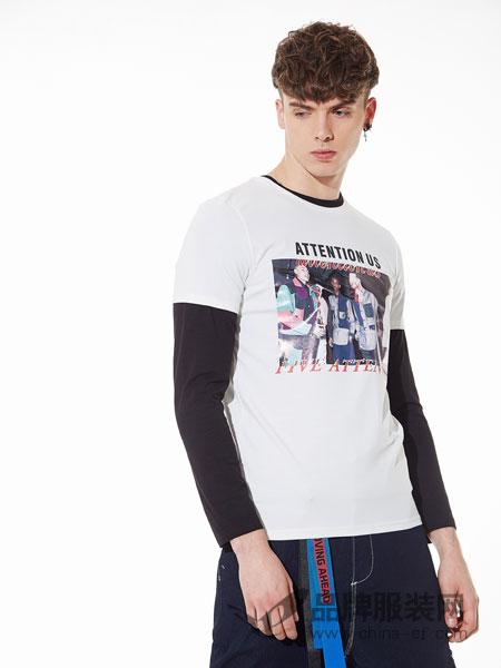 ZENL佐纳利男装2018春夏T恤