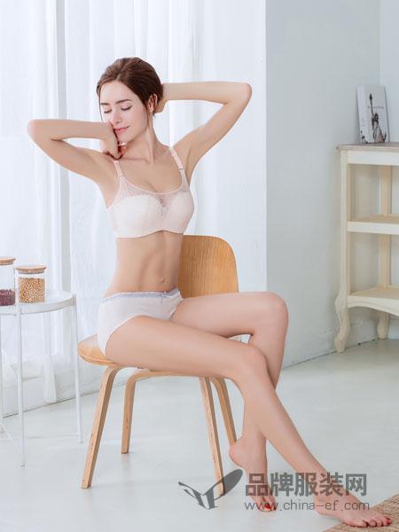 桃花季内衣2018春夏性感文胸套装调整型超薄收副乳透视内衣