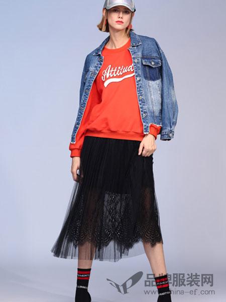 百图女装2018春夏时尚百搭修身短款牛仔外套