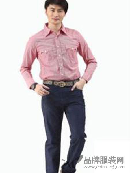 古威隆裤装男装商务口袋兜修身长裤