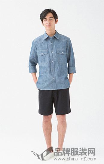 Descendants休闲百搭牛仔衬衫