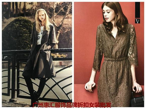 广州库存女装品牌欧麦娅18春装尾货折扣批发渠道在哪里?