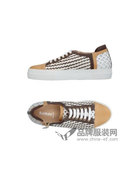 Baldinini鞋新品尚单鞋流苏系带深口英伦风小皮鞋