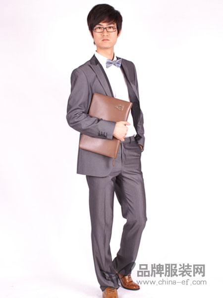 T&G坦托格雷)男装商务正装西服纯色修身职业装一粒扣套装西服