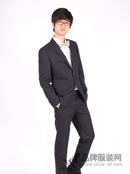 T&G坦托格雷)男装时尚修身休闲职业正装西服套装