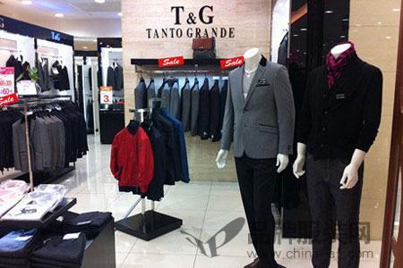 T&G坦托格雷)、LENS伦斯、PAOLONI普罗尼店铺展示