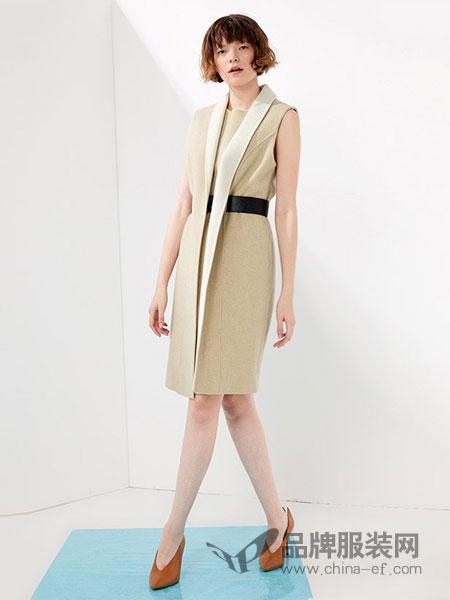NAERSILING女装2018春夏时尚修身连衣裙