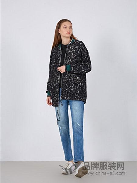 女性日记女装2018春夏女士提花双层撞色优雅显瘦风衣
