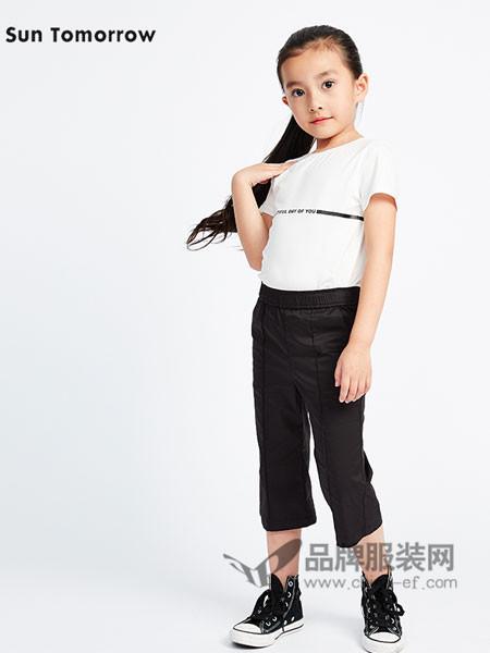 SUNTOMORROW尚T童装时尚休闲简约女T恤