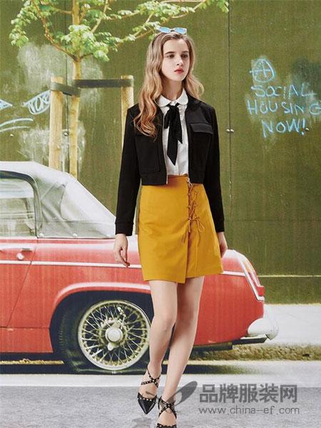艾秀雅轩女装2018春夏短款外套长袖圆领直筒显瘦气质百搭上衣