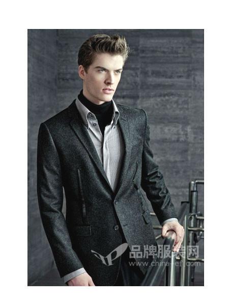 LOUIS LONG路易诗兰男装时尚正装商务西装套装