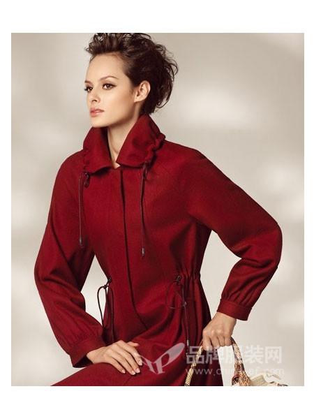 红袖坊 - red house女装时尚气质优雅中长呢子大衣